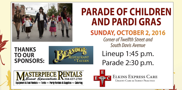 2016 MSFF Parade of Children and Pardi Gras