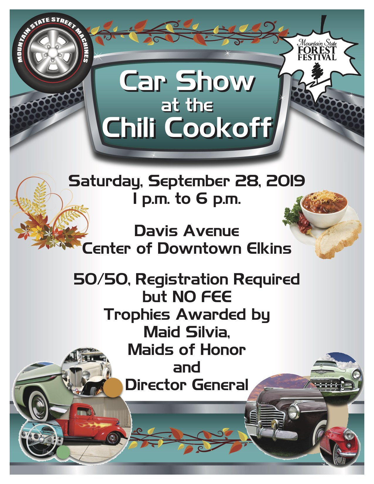 Car Show at the Chili Cookoff