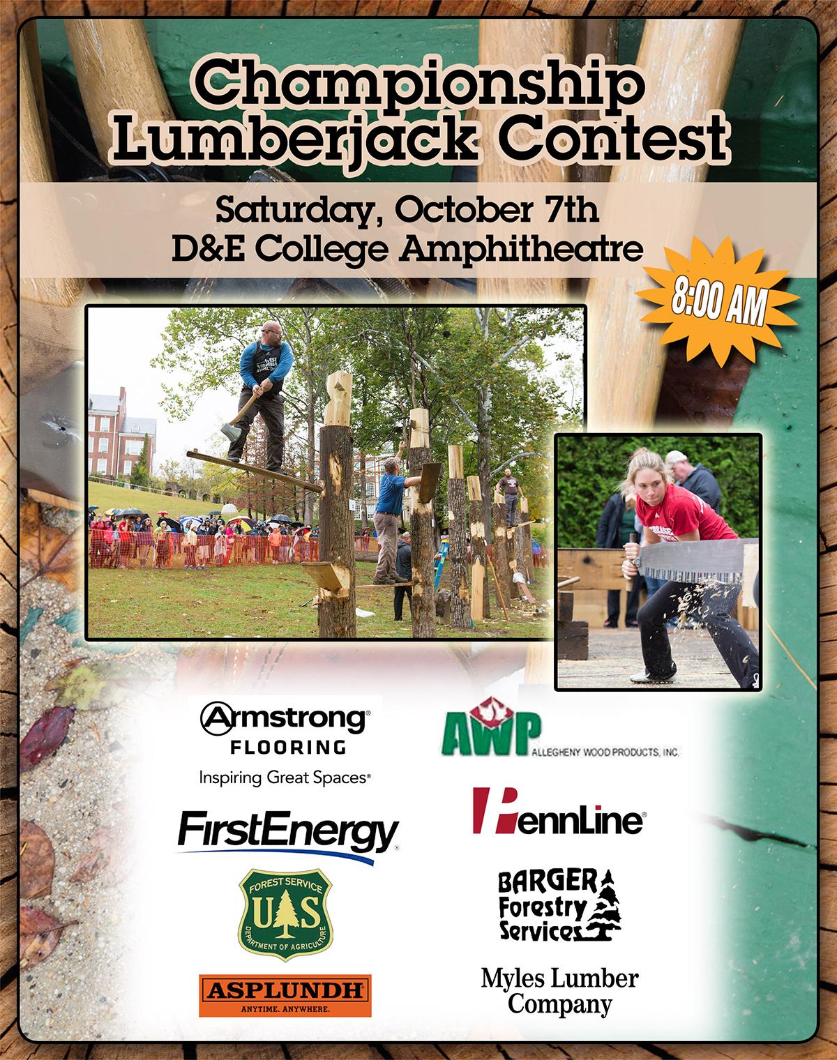 Mountain State Forest Festival Lumberjack