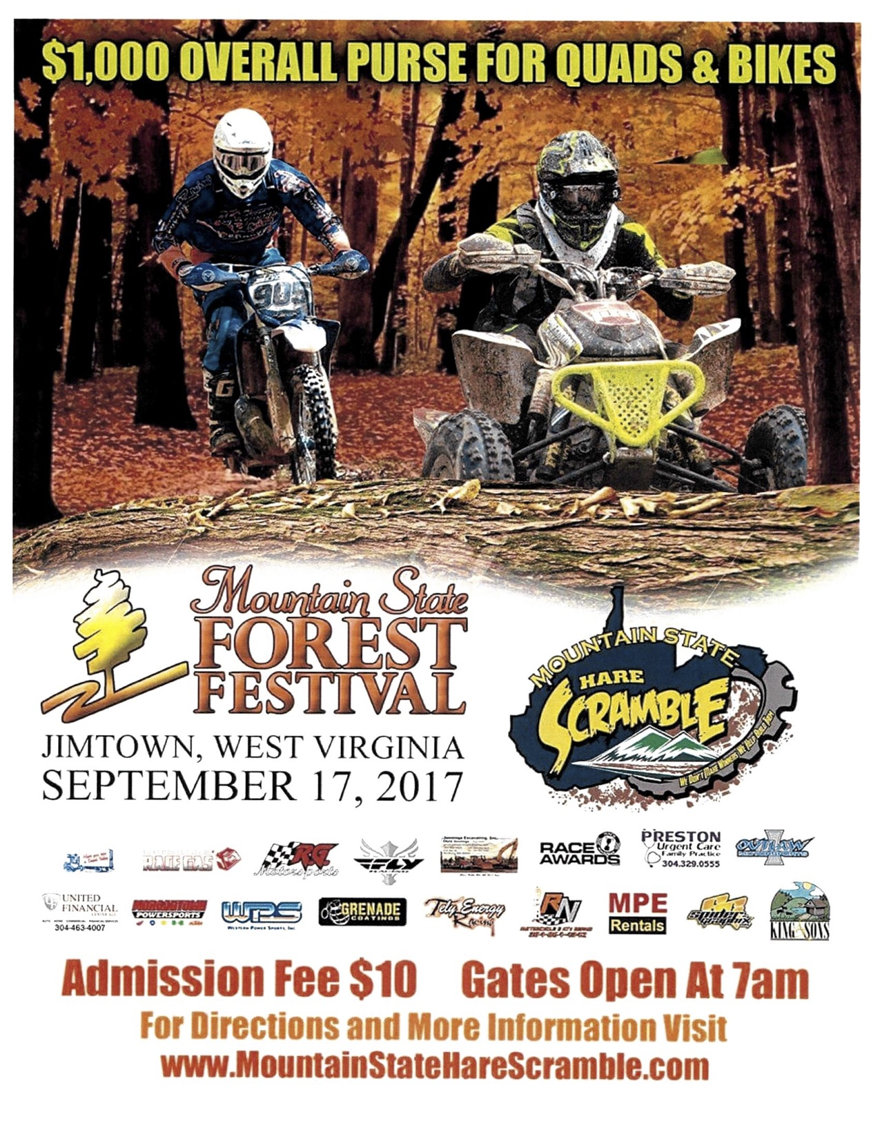 2017 Mountain State Hare Scramble
