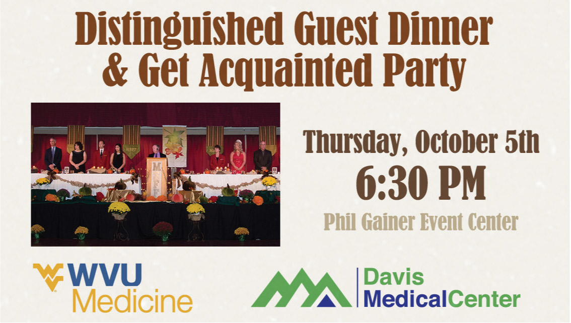 Distinguished Guest Dinner & Get Acquainted Party